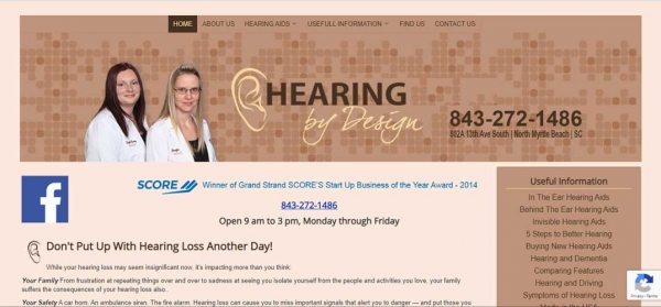 Hearing By Design