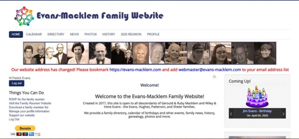 Evans-Macklem Family